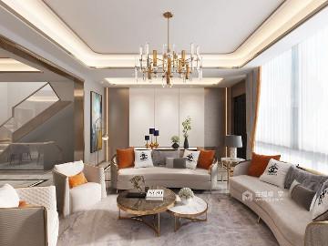 胡桃木色现代轻奢 设计规划优雅