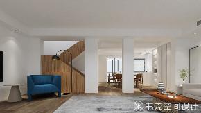 楼梯图片来自韦克空间设计在韦克丨还原个性舒适生活的分享