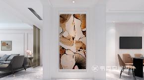 玄关图片来自韦克空间设计在韦克丨始于颜值,忠于内心的分享