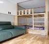 松木定制的上下床,环保性好,把空间利用到极致,上下都可以休息。