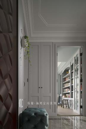 三居 张馨 美式 玄关 书房图片来自在翱翔 水畔森林的分享