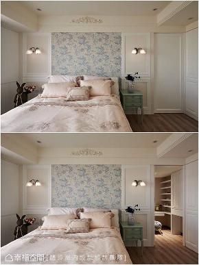 装修设计 装修完成 新古典 卧室图片来自幸福空间在149平,谱写与喵星人的精彩篇章的分享