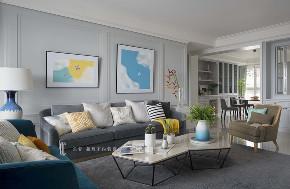 三居 张馨 美式 客厅 客厅图片来自在翱翔 水畔森林的分享
