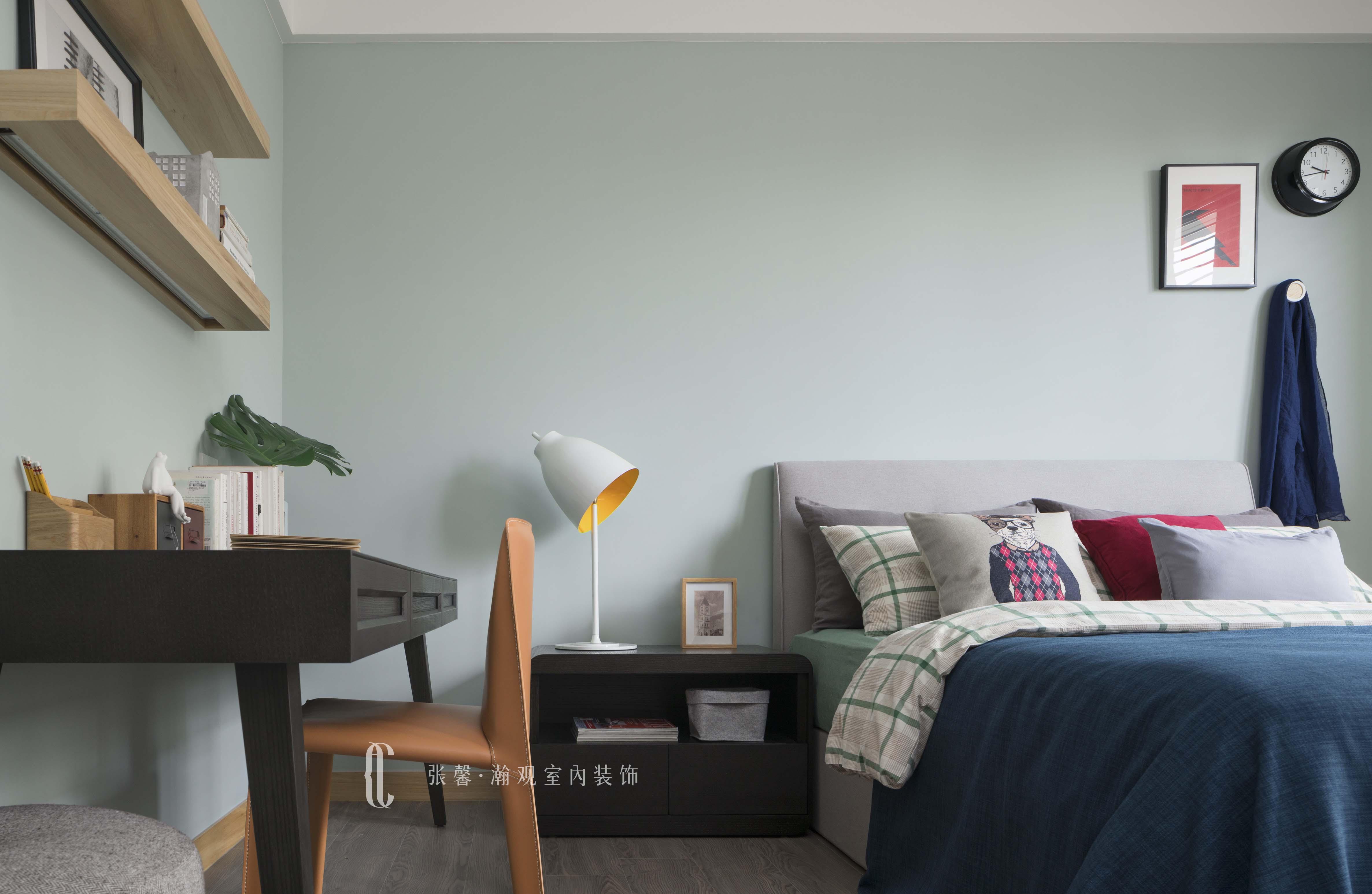 三居 张馨 美式 卧房 卧室图片来自张馨_瀚观室内装饰在翱翔 水畔森林的分享
