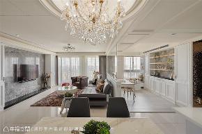 装修设计 装修完成 新古典 客厅图片来自幸福空间在149平,谱写与喵星人的精彩篇章的分享