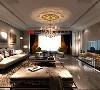 盘锦美的城如院138平欧式风格