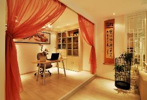 贵阳装修 贵阳设计 贵阳家居 装修设计 新中式 书房图片来自飞雁空间设计在轻描淡写-新中风的分享