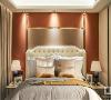 主卧空间以时尚简洁的现代风格加以诠释,延续客厅米色金色基调,粗糙与细腻的不同肌理并存空间,在空间中达到巧妙的平衡,舒适与时尚碰撞,牵引出空间主人对精致、优雅、舒适生活的追求。