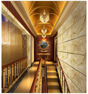 欧式 别墅 收纳 楼梯图片来自文华东方工程设计在文华权-广州新光城市花园别墅的分享