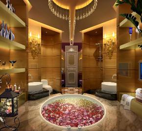 欧式 别墅 收纳 卫生间图片来自文华东方工程设计在文华权-广州新光城市花园别墅的分享