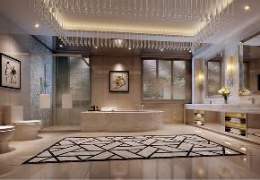 欧式 混搭 别墅 卫生间图片来自文华东方工程设计在文华东方设计--惠州汪生别墅的分享