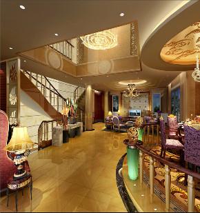 欧式 别墅 收纳 客厅图片来自文华东方工程设计在文华权-广州新光城市花园别墅的分享