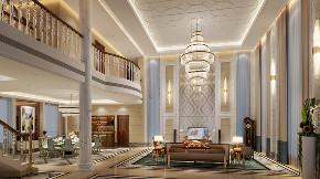欧式 混搭 别墅 客厅图片来自文华东方工程设计在文华东方设计--惠州汪生别墅的分享