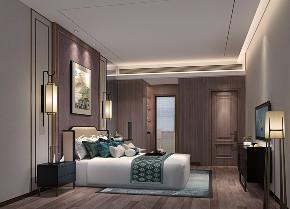 欧式 白领 小资 别墅 卧室图片来自文华东方工程设计在文华权设计--惠州白鹭湖别墅的分享
