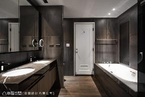 装修设计 装修完成 现代风格 人文风格 卫生间图片来自幸福空间在198平,沉稳优雅的饭店宅的分享