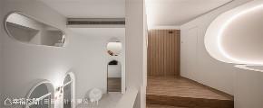 装修设计 装修完成 现代风格 法式风格 混搭风 商业空间 楼梯图片来自幸福空间在132平,六星级的毛小孩游乐园的分享