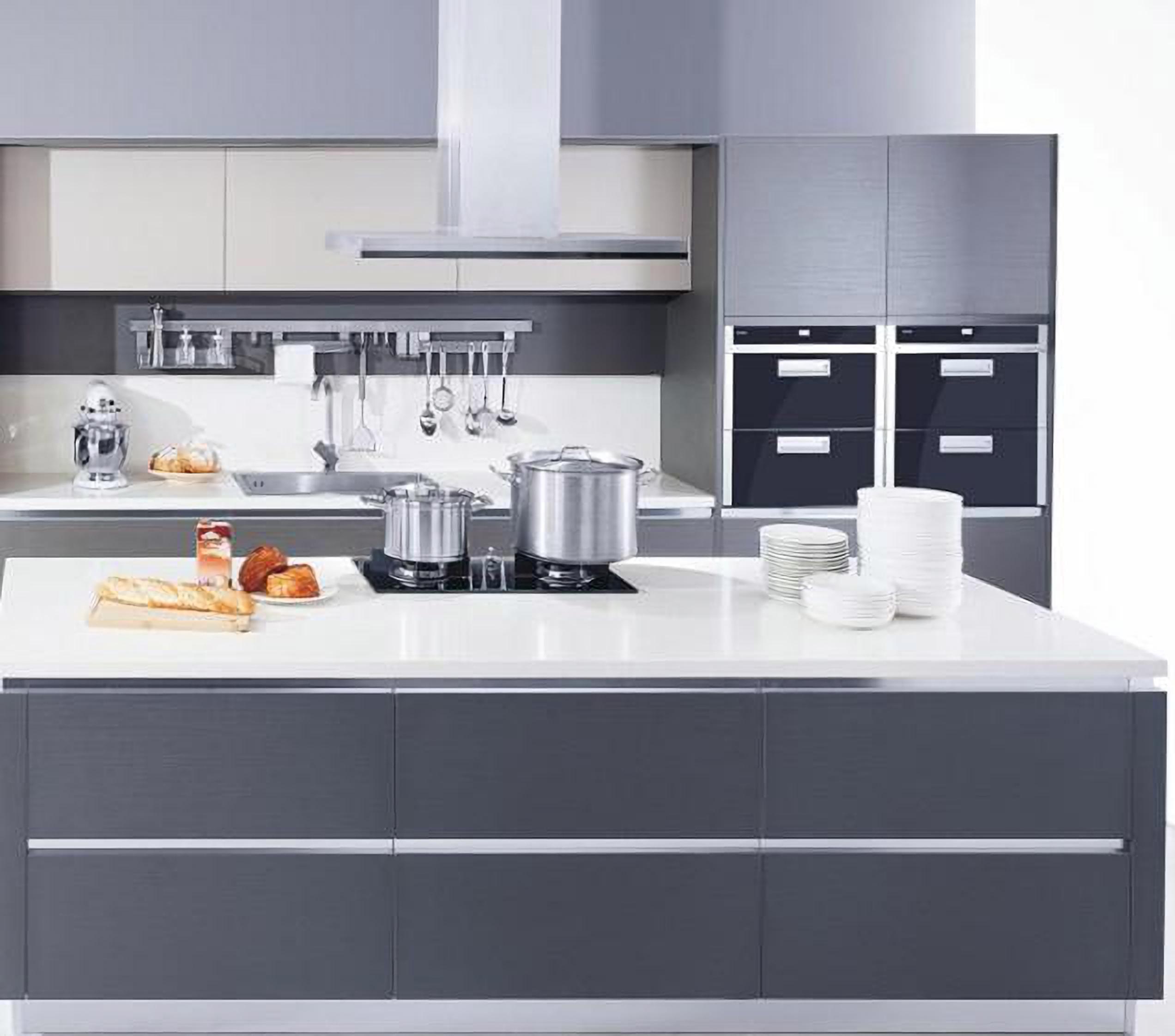 简约, 厨房, 轻奢, 台面, 石英图片来自Hanmastone汉玛仕高端石英面材在Hanmastone汉玛仕应用集锦的分享