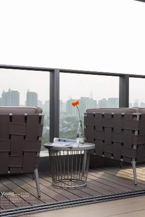旧房改造 小资 漾设计 轻奢 精装房 阳台图片来自漾设计在漾设计 | 纸醉金迷的分享