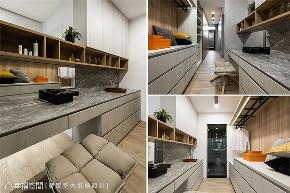 装修设计 装修完成 现代风格 别墅 衣帽间图片来自幸福空间在443平,时尚乐活宅连系三代情的分享