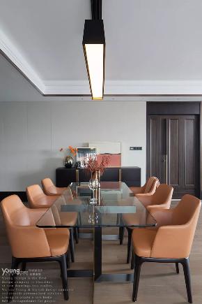 旧房改造 小资 漾设计 轻奢 精装房 餐厅图片来自漾设计在漾设计 | 纸醉金迷的分享