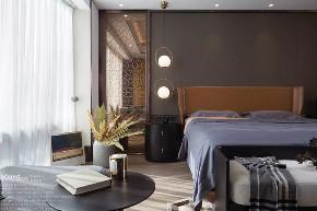 旧房改造 小资 漾设计 轻奢 精装房 卧室图片来自漾设计在漾设计 | 纸醉金迷的分享