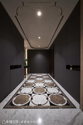 装修设计 装修完成 现代风格 玄关图片来自幸福空间在528平,大气质感  唯美景观大宅的分享