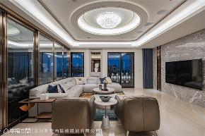 装修设计 装修完成 现代风格 英式风格 新古典 客厅图片来自幸福空间在430平,豪宅推手 打造企业主会所的分享