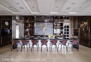装修设计 装修完成 现代风格 英式风格 新古典 餐厅图片来自幸福空间在430平,豪宅推手 打造企业主会所的分享