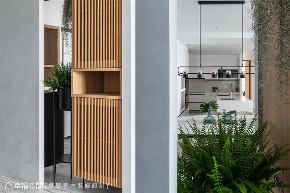 装修设计 装修完成 现代风格 新成屋 标准格局 玄关图片来自幸福空间在126平,清新白×木作 生活好感度的分享