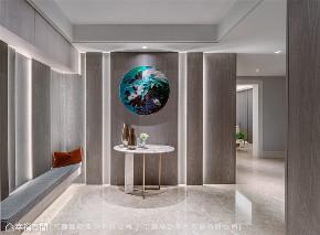 装修设计 装修完成 现代风格 玄关图片来自幸福空间在496平,自然风尚宅  相聚好时光的分享