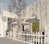 门店坐落于市中心的文化创意园内,是一间集展厅与秀场于一体的高级定制婚纱店。