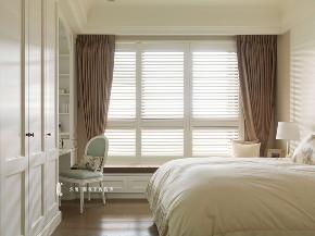 卧室图片来自张馨_瀚观室内装饰在三个女人的家的分享