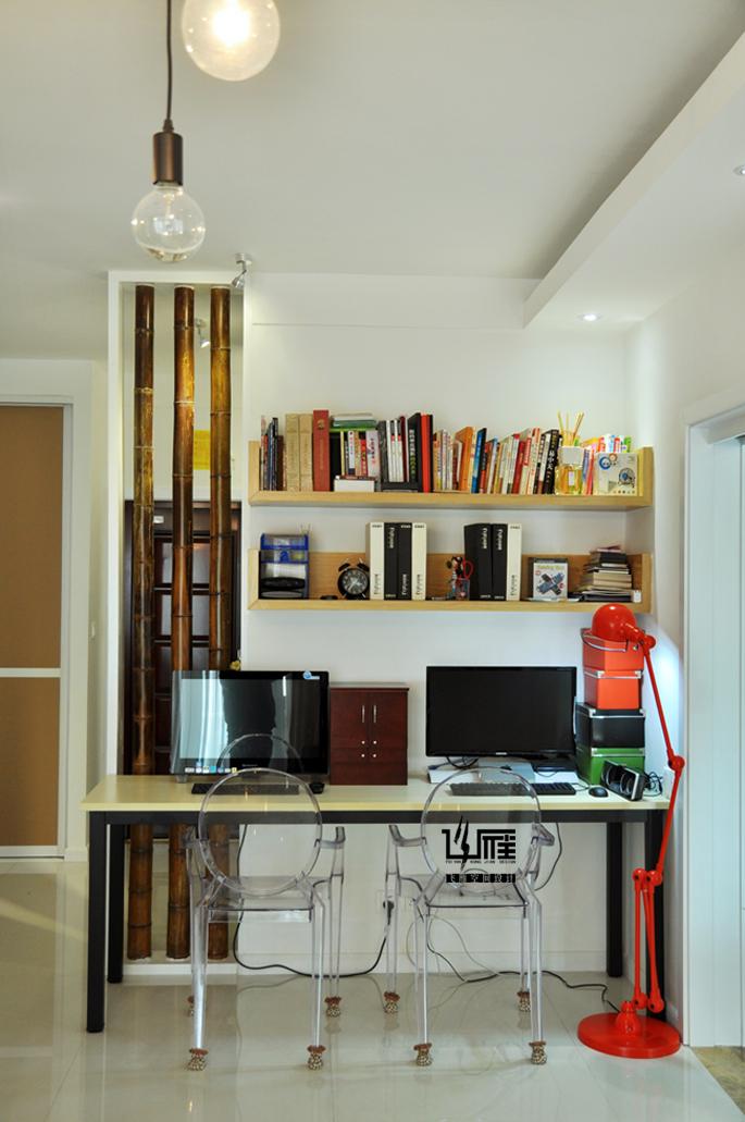 书房图片来自飞雁空间设计在晓居的分享