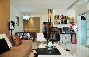 客厅图片来自飞雁空间设计在晓居的分享
