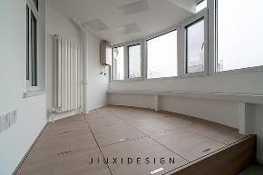 收纳 二居 旧房改造 久栖设计 北欧 简约 阳台图片来自久栖设计在合理规划空间,使生活条理清晰的分享