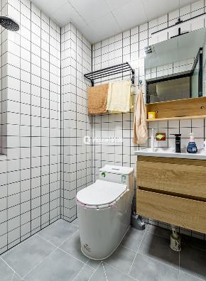 简约 卫生间图片来自俏业家装饰在蓝光中央广场公寓北欧装修案例的分享