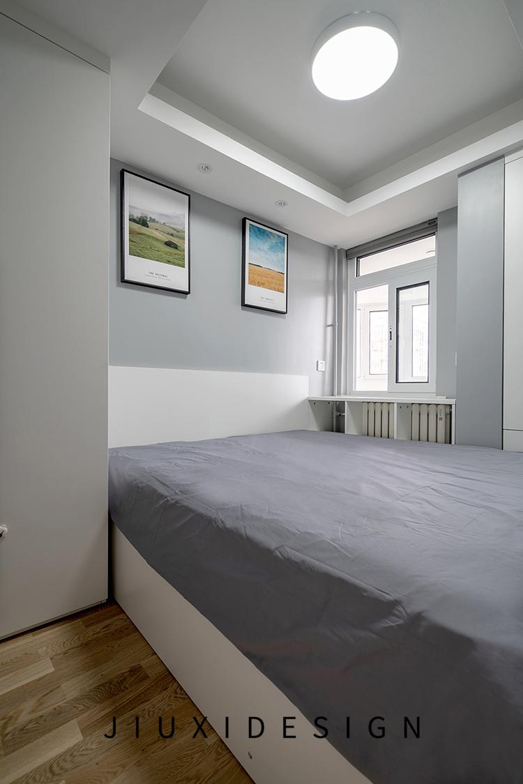 收纳 二居 旧房改造 久栖设计 北欧 简约 卧室图片来自久栖设计在合理规划空间,使生活条理清晰的分享