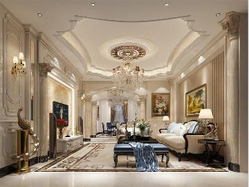 中星红庐独栋别墅欧式风格设计