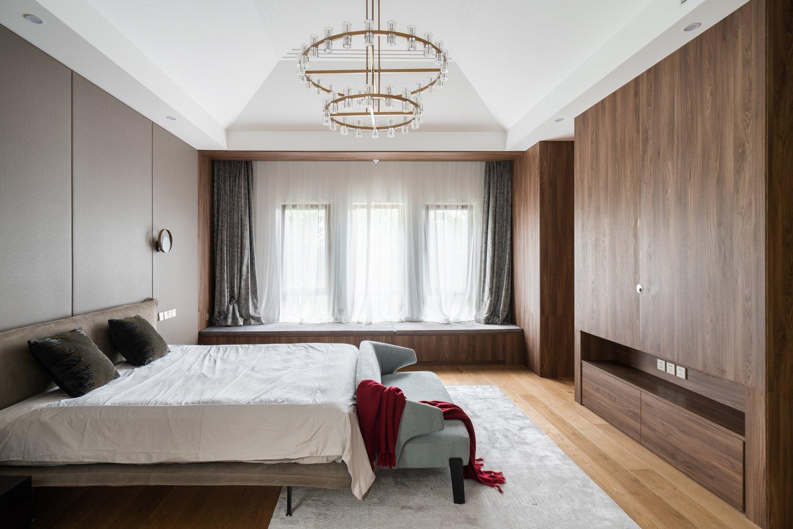 别墅装修 别墅设计 中式风格 腾龙设计 卧室图片来自腾龙设计师朱炯在中式风格设计作品展示!的分享
