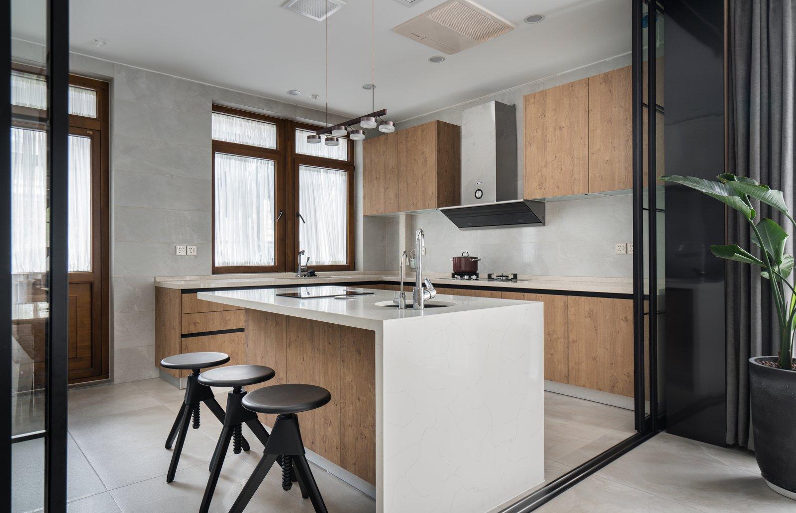别墅装修 别墅设计 中式风格 腾龙设计 厨房图片来自腾龙设计师朱炯在中式风格设计作品展示!的分享
