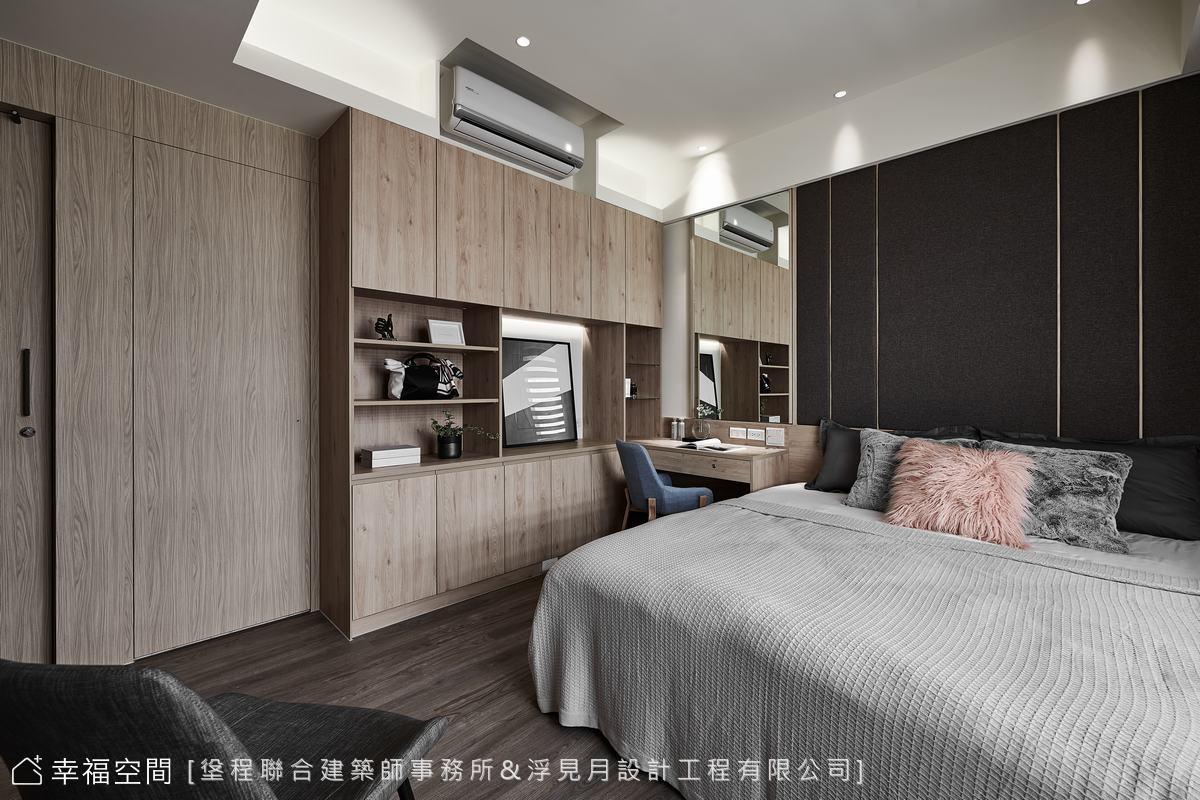 装修设计 装修完成 现代风格 标准格局 卧室图片来自幸福空间在102平, 打造三代同堂健康机能宅的分享